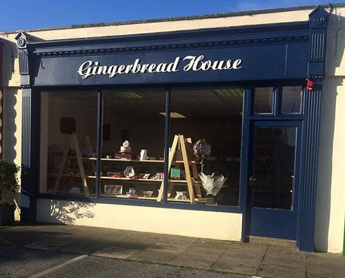 gingerbread house in midleton cork