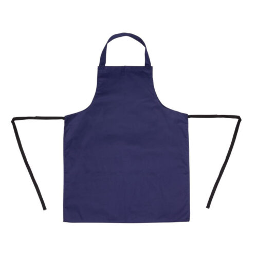 adult apron navy