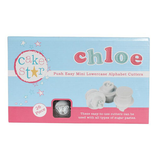 cake star mini easy lettering set