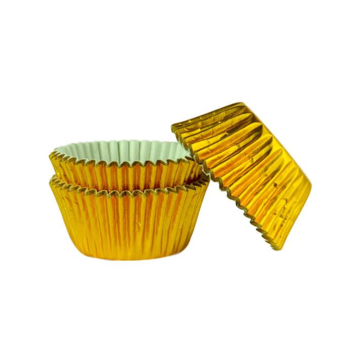 cupcake case gold