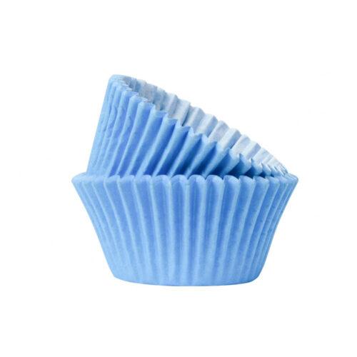cupcake case light blue