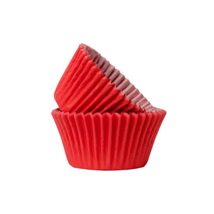 cupcake case red