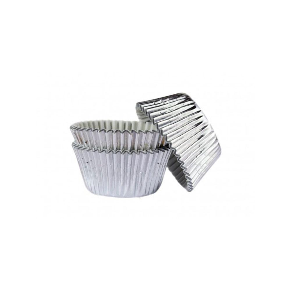 cupcake case silver