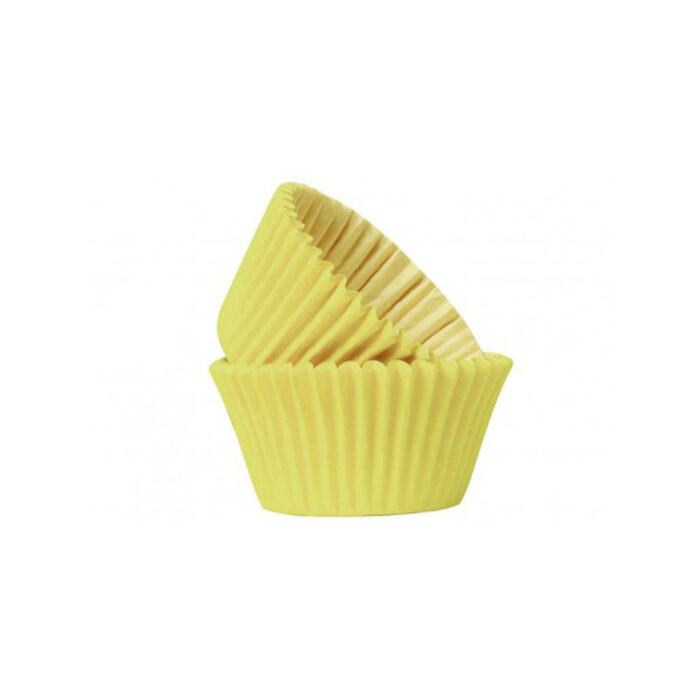 cupcake case yellow