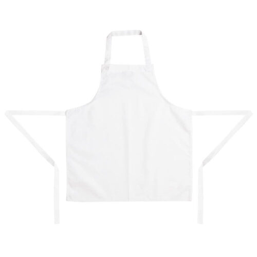 kids apron white