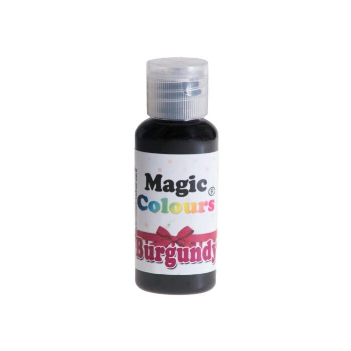 magic colour burgundy