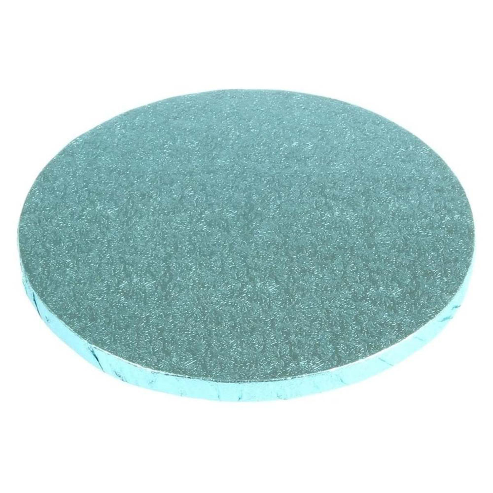 round cake drum blue board