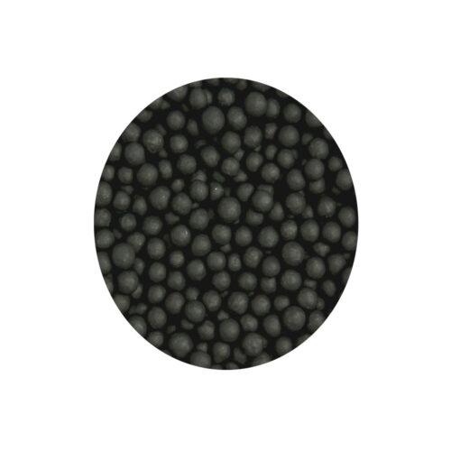 Matt black pearls