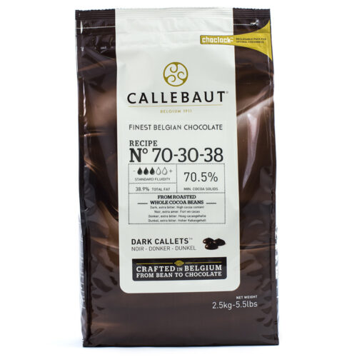 callebaut dark 70 chocolate