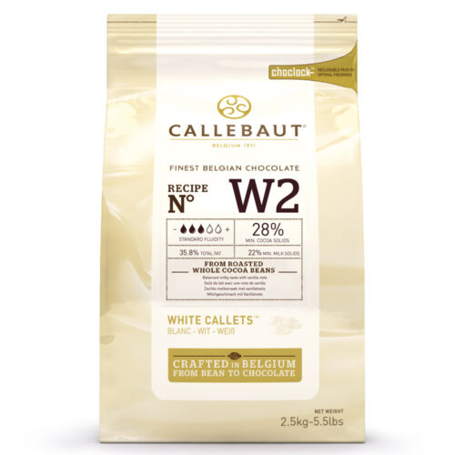 callebaut white chocolate