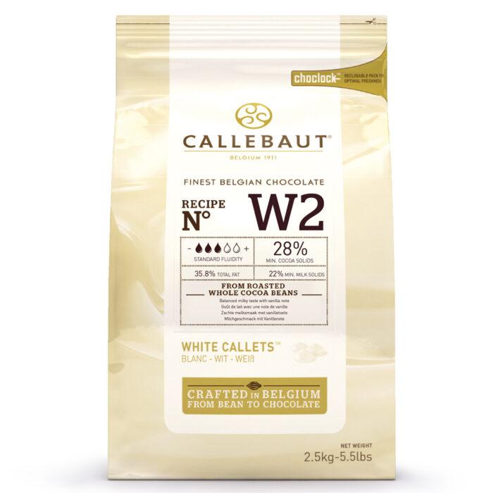 callebaut white chocolate