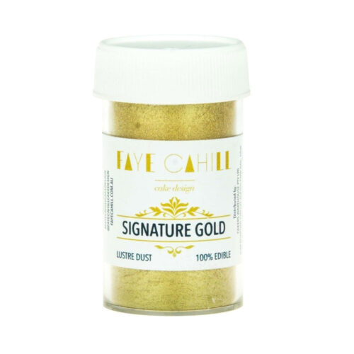Faye cahill signature gold