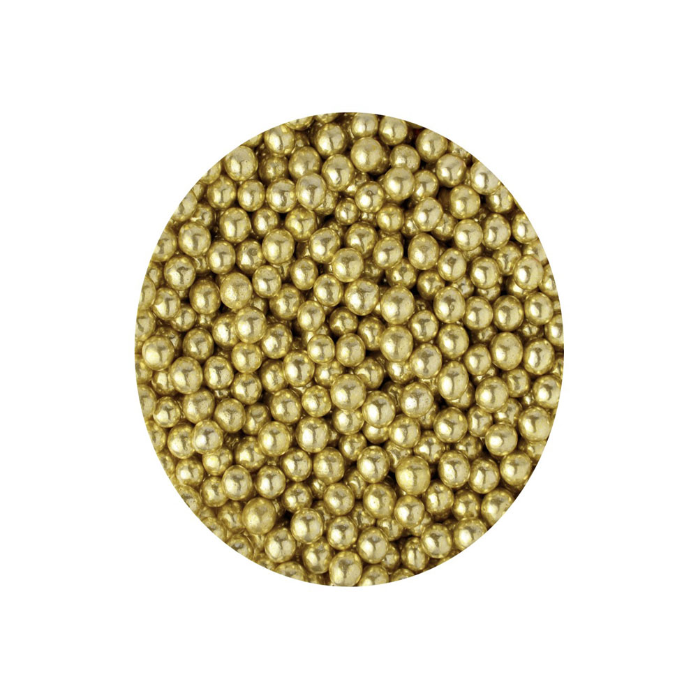 gold pearls 4mm