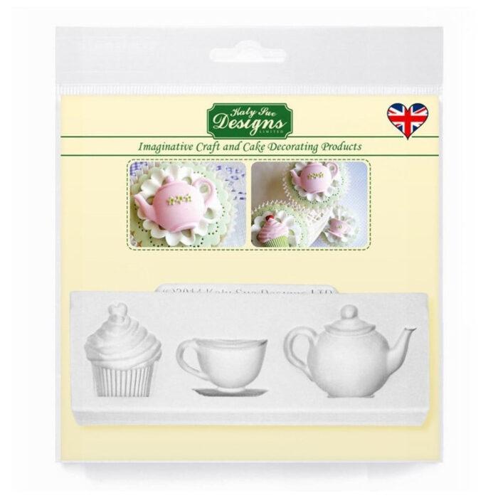 katy sue designs afternoon tea mould-