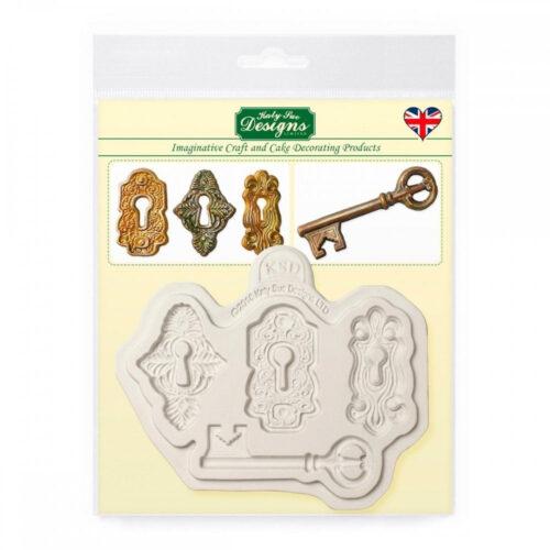 katy sue designs locks and keys mould