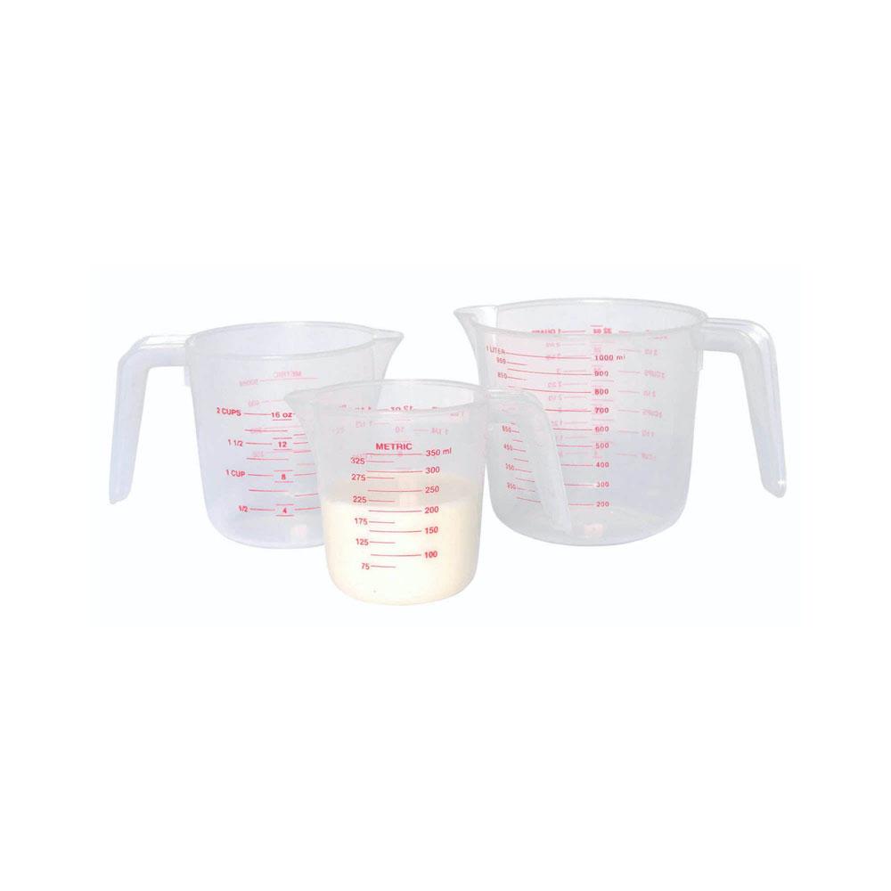 kitchencraft set of three measure jugs