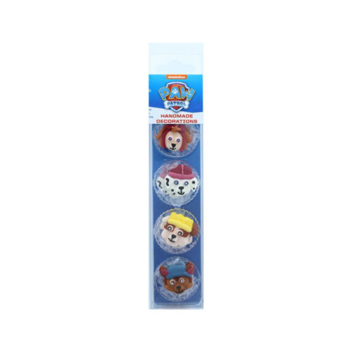 paw patrol sugar pipings