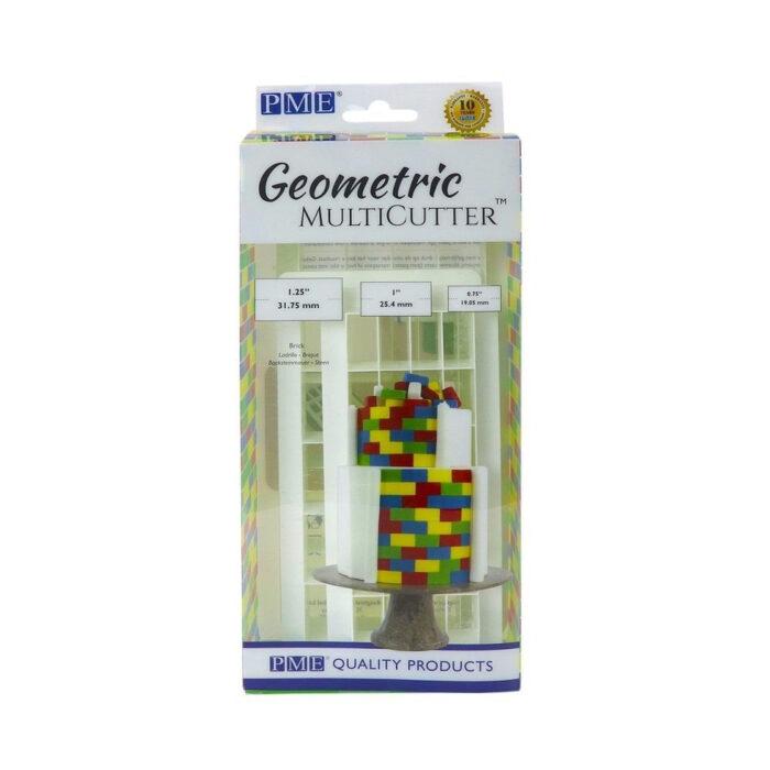 pme brick effect geometric multicutter