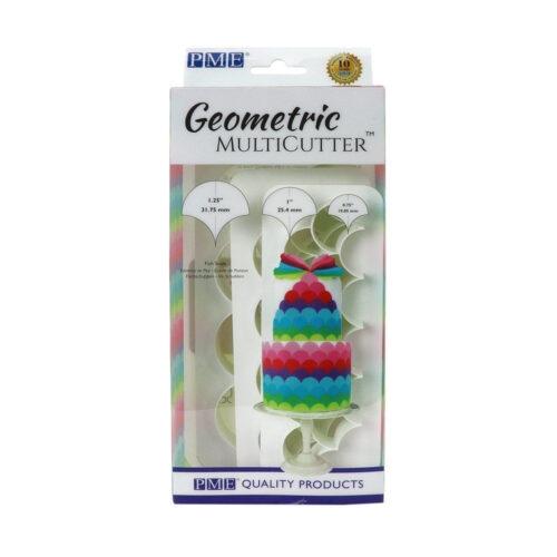 pme fish scale geometric multicutter