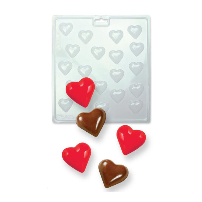 pme heart chocolate mould