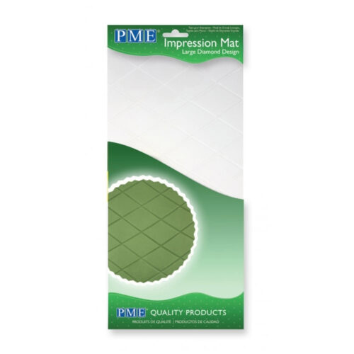 pme large diamond design impression mat
