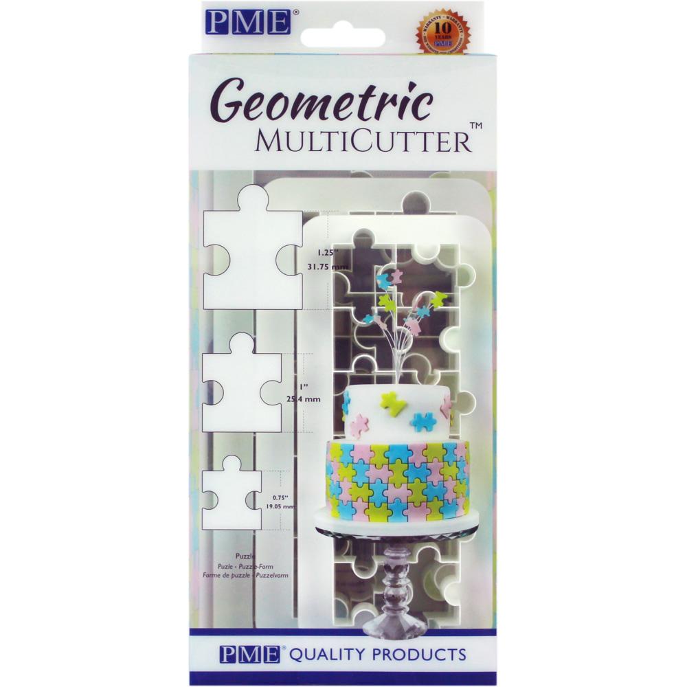 pme puzzle effect geometric multicutter