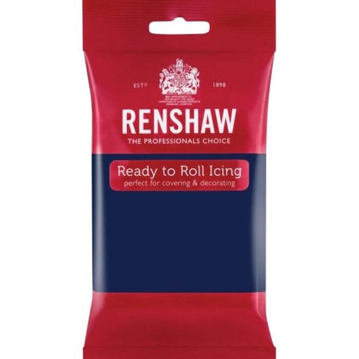renshaw navy blue sugarpaste
