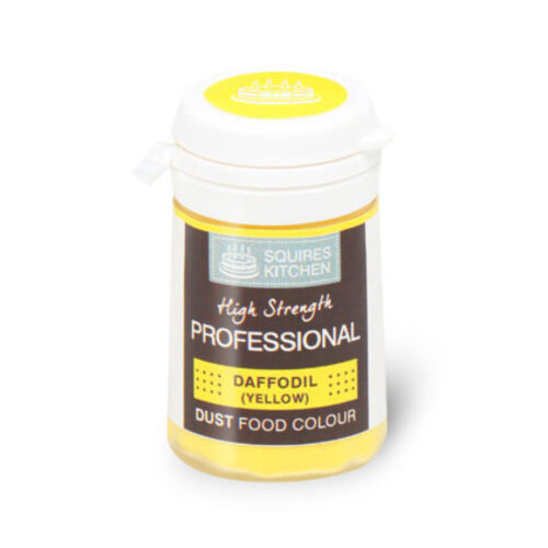squires kitchen daffodil colour dust