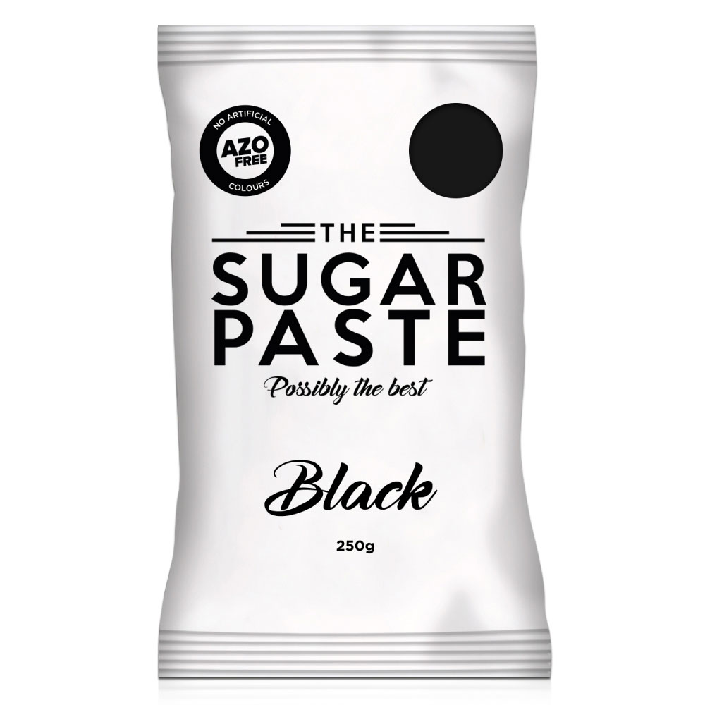 the sugar paste 1kg black