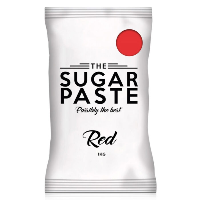 the sugar paste red 1kg