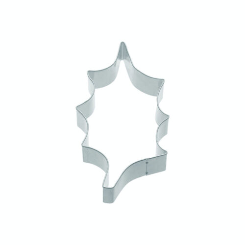 cookie cutter holly leaf