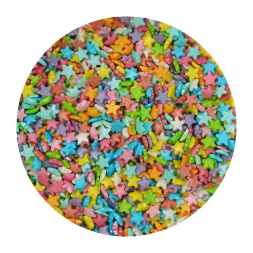 mini star rainbow sprinkles