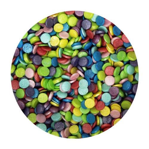 rainbow confetti sprinkles