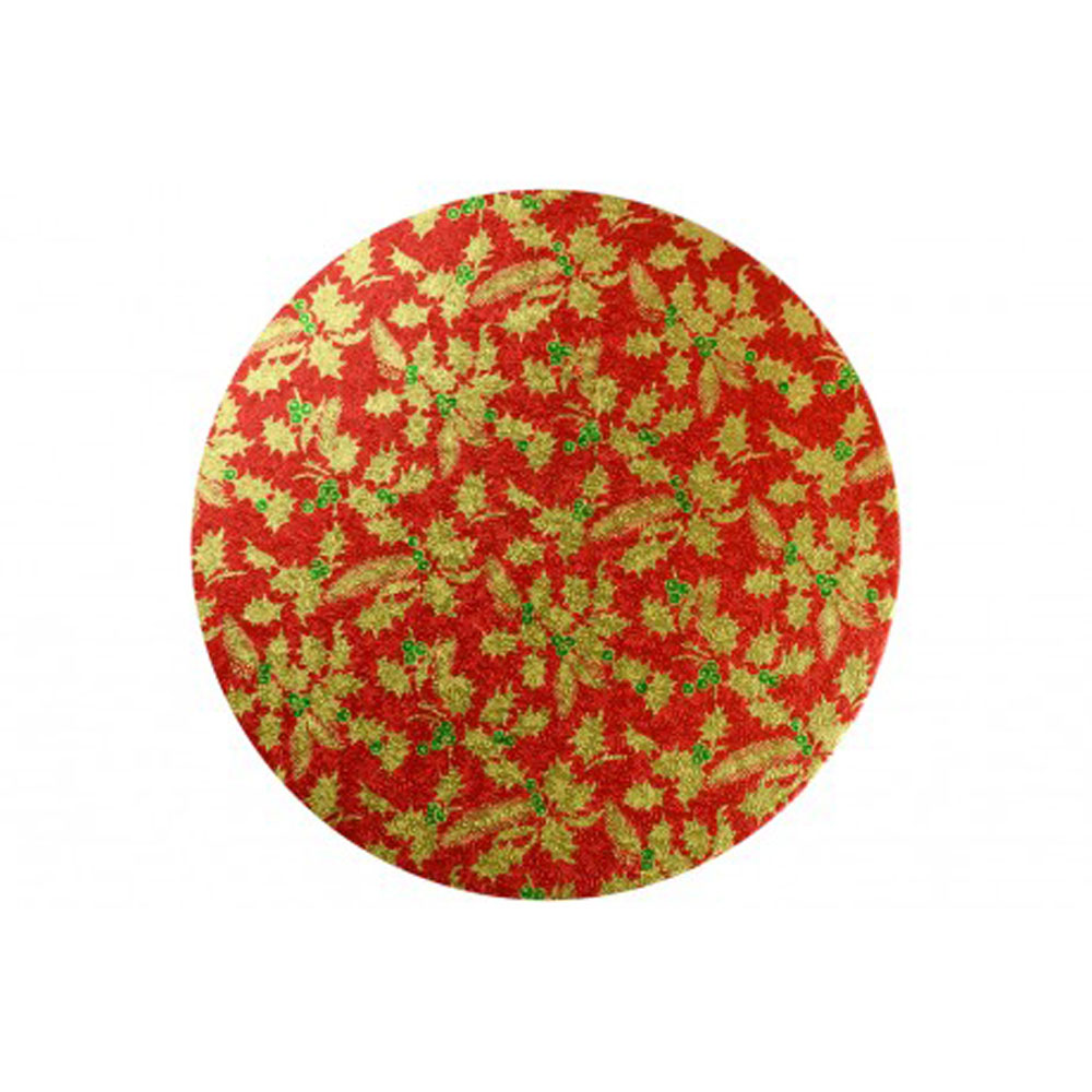 "red 10"" board gold holly"