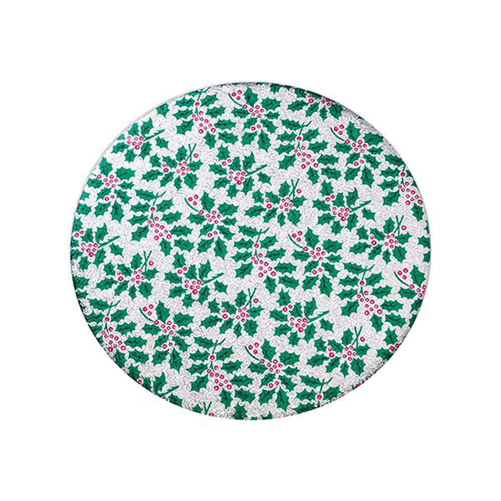 """silver 10"""" round holly board"""