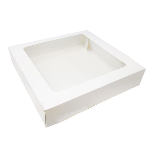 tart box with window 9inch