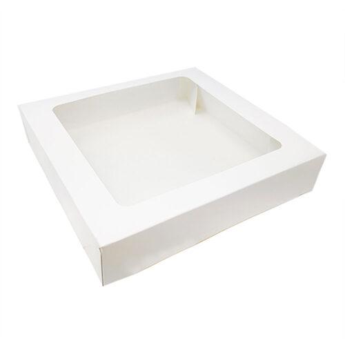 tart box with window 9inch