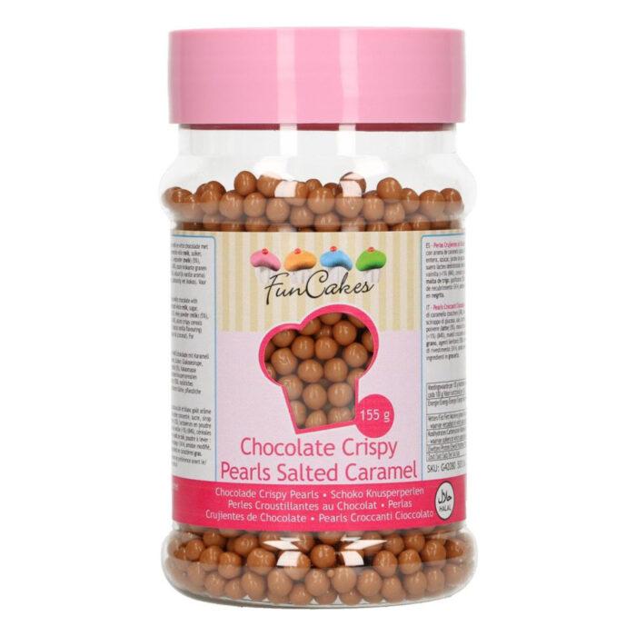 chocolate crispy pearls mini