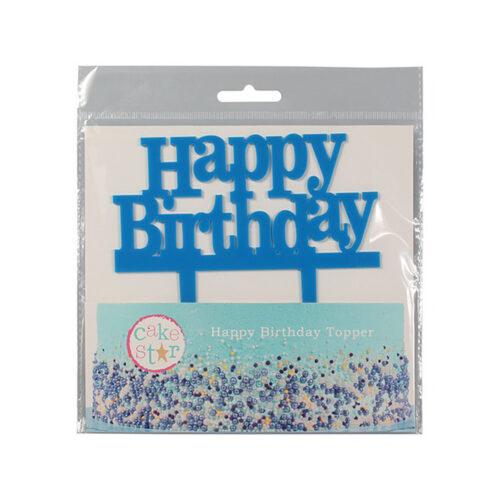 cuplitt blue cake topper