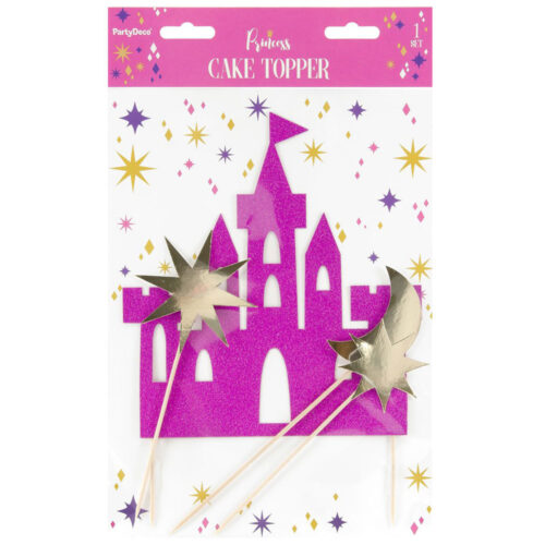 princess- cake topper