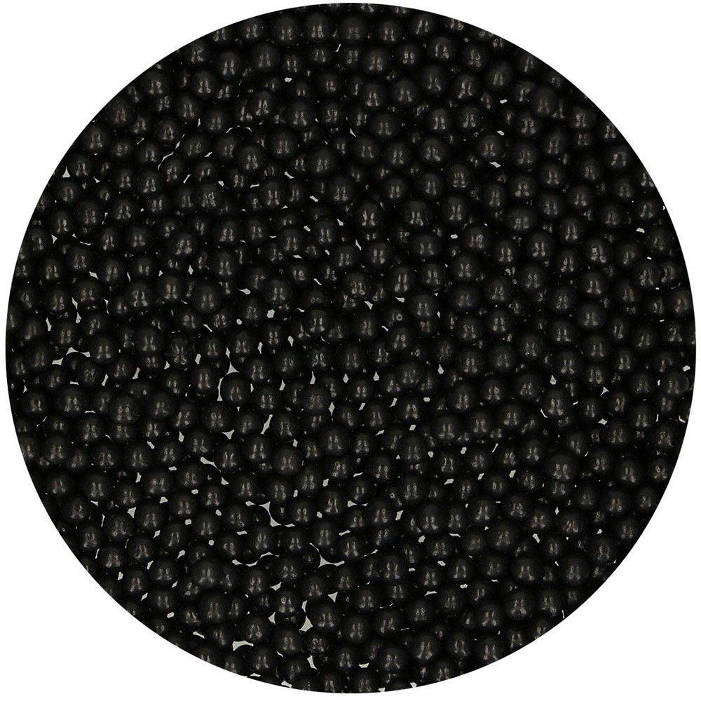 shiny black pearls 4mm