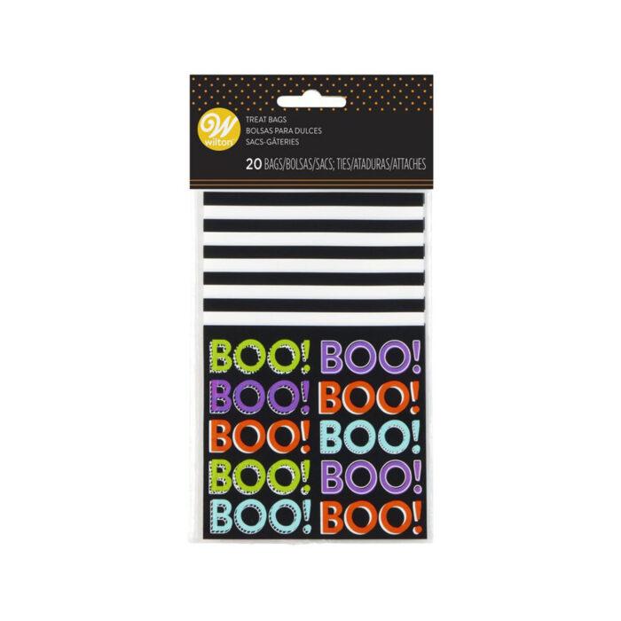 wilton boo treat bags
