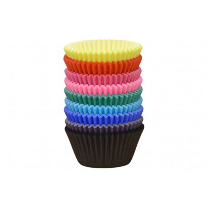 coloured cupcake case bulk