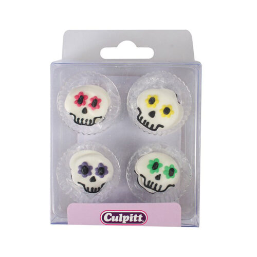 halloween sugar pipings skull