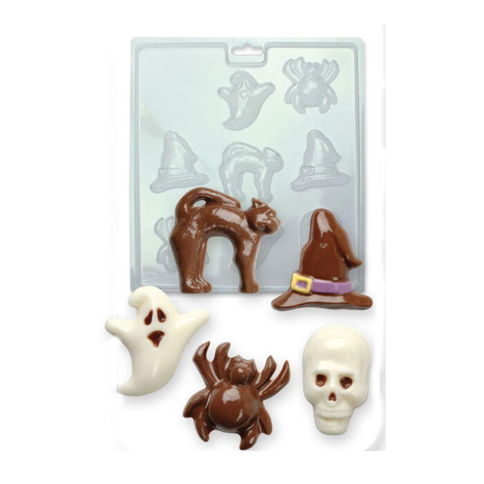 halloween chocolate moulds