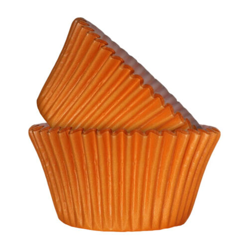 orange cupcake case