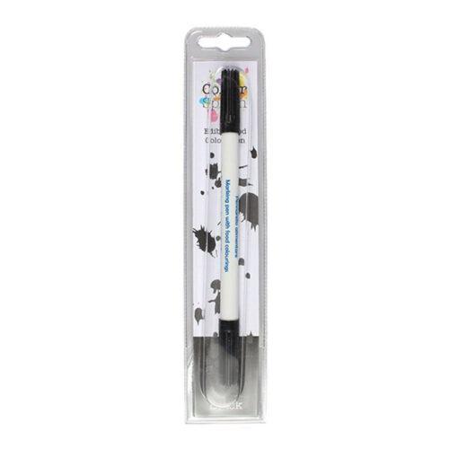 black edible pen