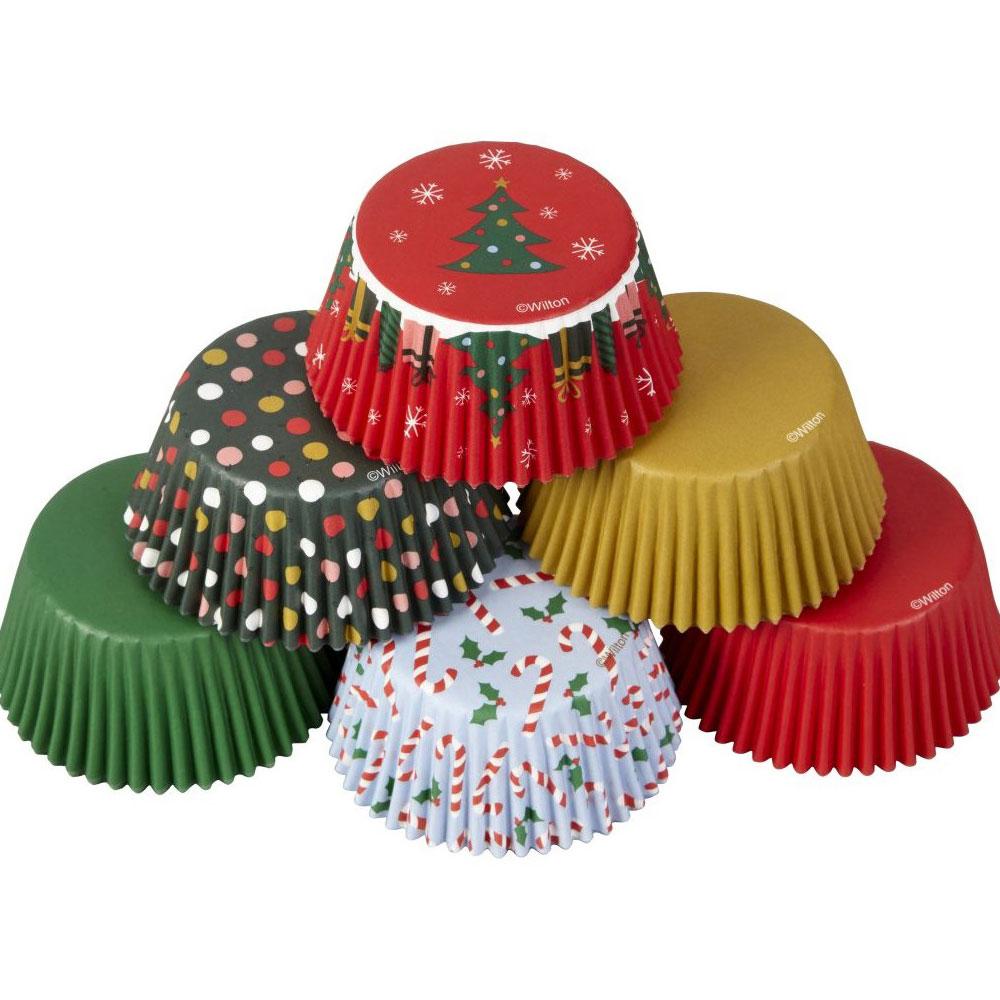 christmas cupcake case
