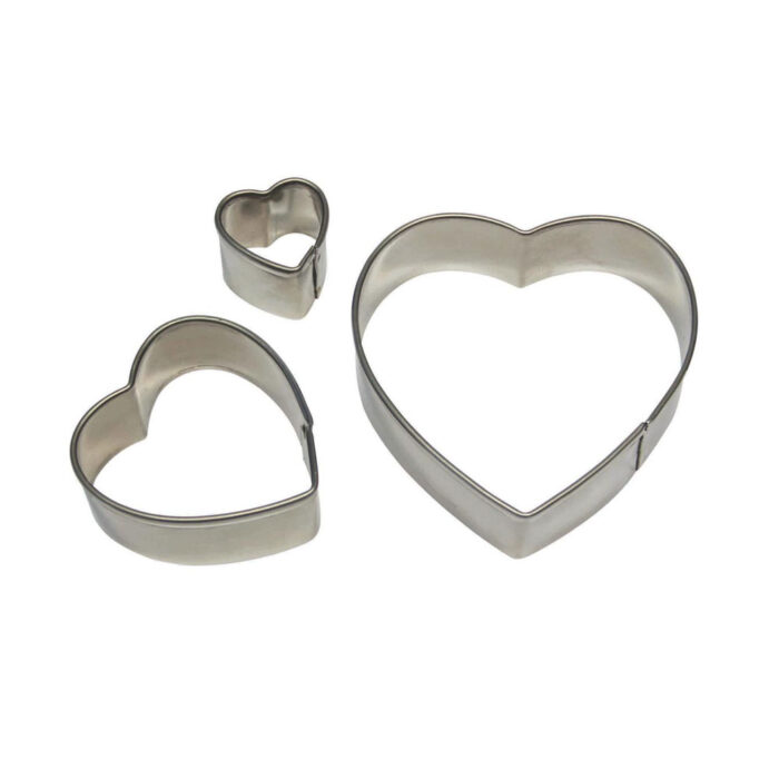 pme heart set of three cutter