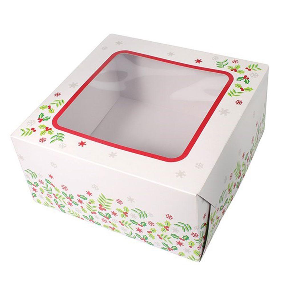 holly Christmas box